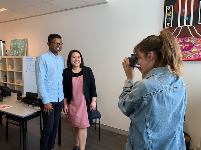 Photoshoots capture fun team with serious commitment to diversity