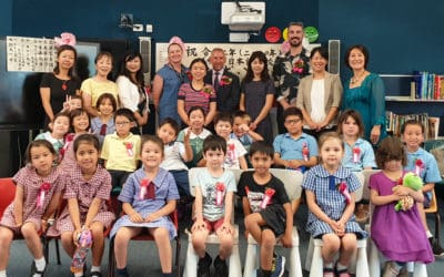 Fruitful links forged with the Japanese community